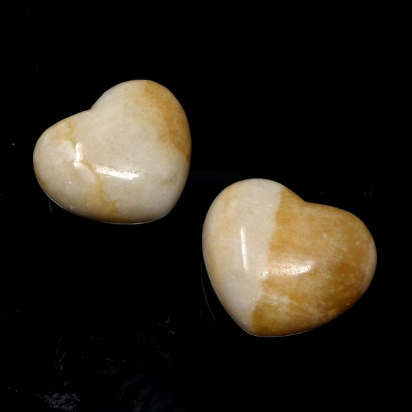 Onyx Puffy Heart All Polished Crystals crystal heart