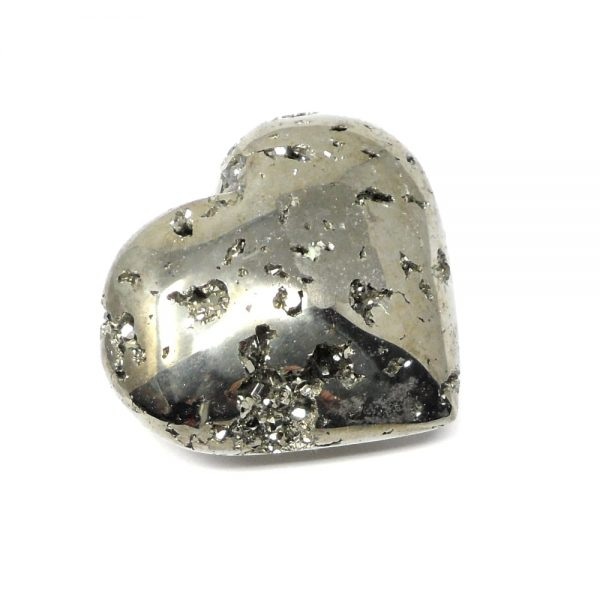 Pyrite Heart All Polished Crystals crystal heart