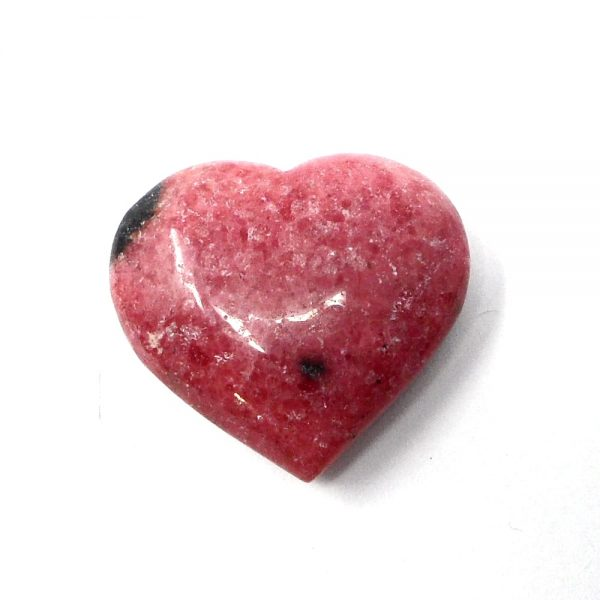 Rhodonite Heart All Polished Crystals crystal heart
