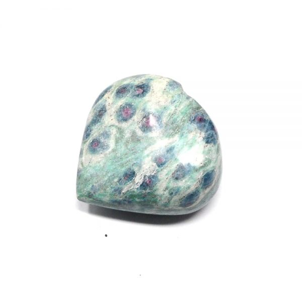 Ruby Zoisite Heart All Polished Crystals crystal heart