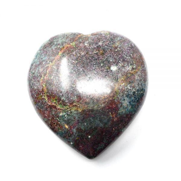 Ruby Kyanite Heart All Polished Crystals indian crystal