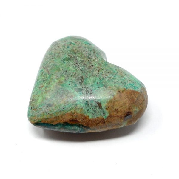 Turquesite Heart All Polished Crystals crystal heart