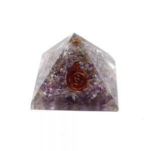 Amethyst Orgonite Pyramid Accessories amethyst