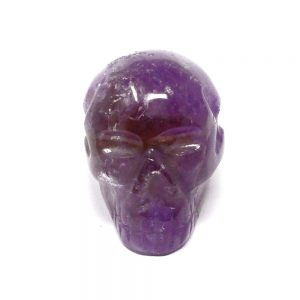 Ametrine Skull All Polished Crystals amethyst citrine skull
