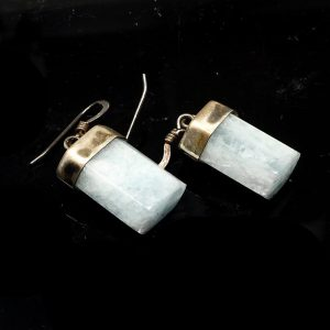 Aquamarine Earrings All Crystal Jewelry aquamarine