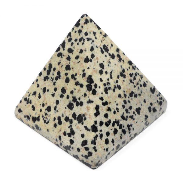 Dalmatian Jasper Pyramid All Polished Crystals crystal pyramid