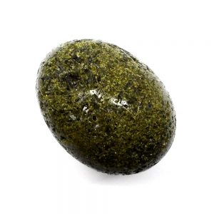 Green Epidote Egg All Polished Crystals crystal egg