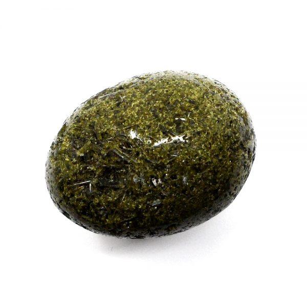 Green Epidote Egg All Polished Crystals crystal egg