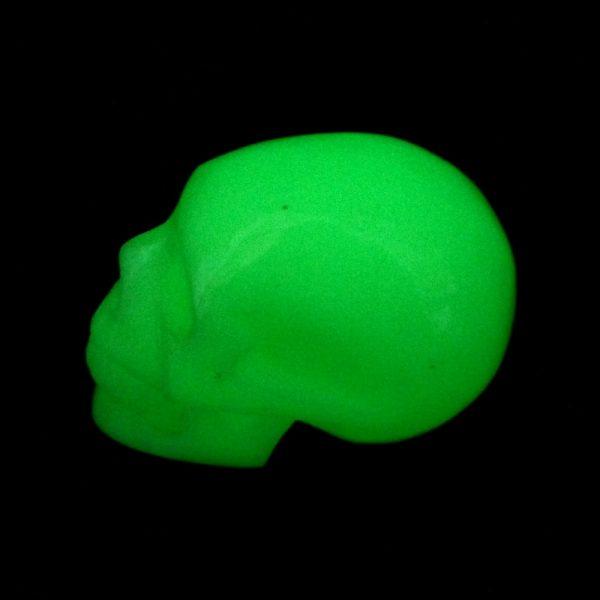 Glow in the Dark Skull All Polished Crystals crystal skull