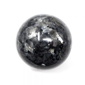 Larvikite Sphere 55mm All Polished Crystals blue labradorite