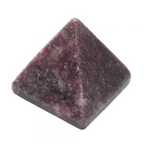 Lepidolite Pyramid All Polished Crystals brazilian crystal