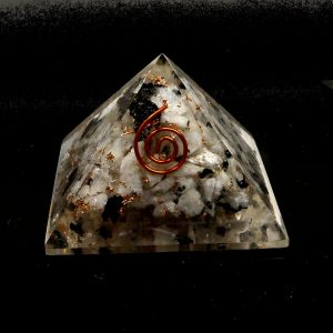 Rainbow Moonstone Orgonite Pyramid Accessories copper
