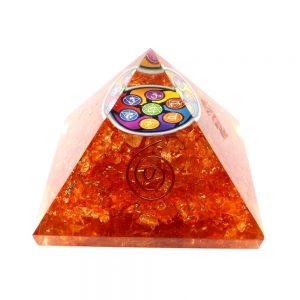 Quartz Orgonite Pyramid All Accessories copper
