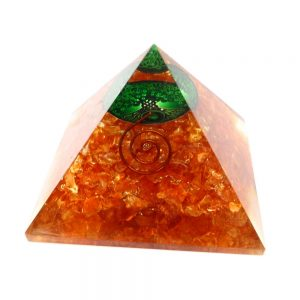 Quartz Orgonite Pyramid Accessories copper