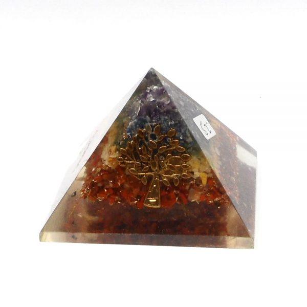 Chakra Orgonite Pyramid Accessories chakra