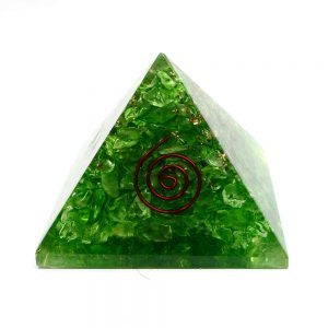 Dyed Quartz Orgonite Pyramid Accessories copper