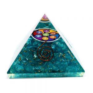 Dyed Quartz Orgonite Pyramid All Accessories copper