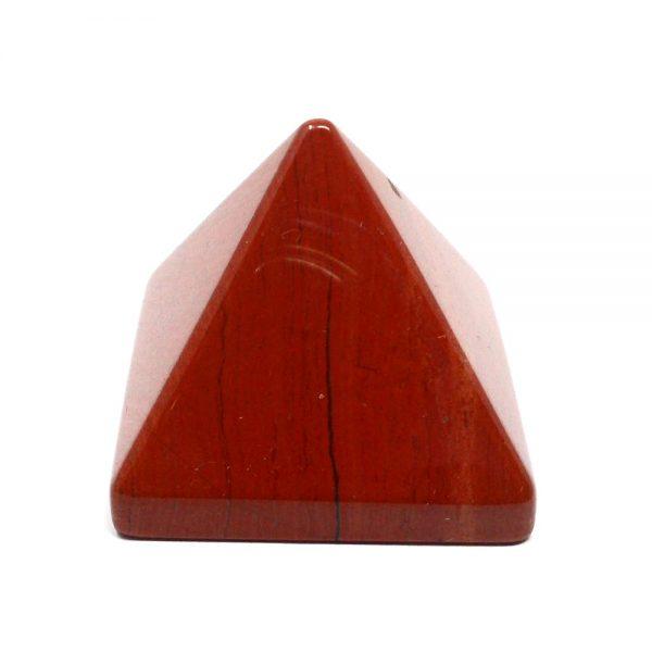 Red Jasper Pyramid All Polished Crystals crystal pyramid