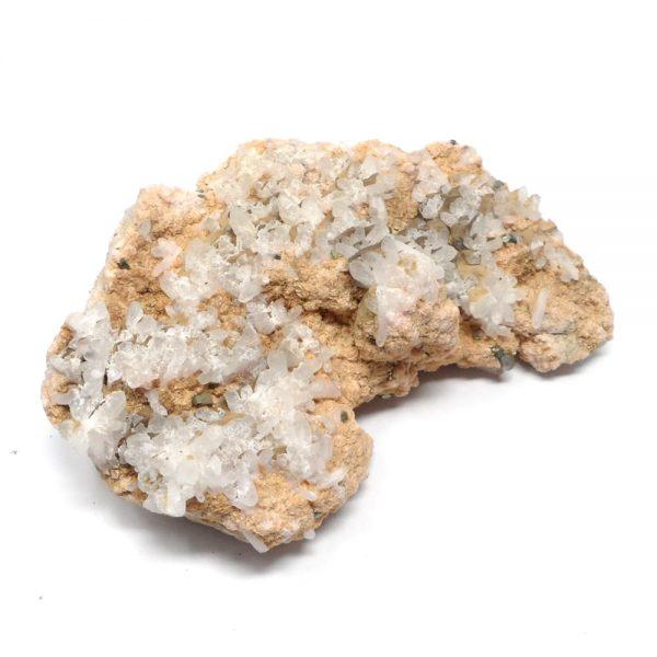 Rhodochrosite, Pyrite, and Quartz Cluster All Raw Crystals pyrite