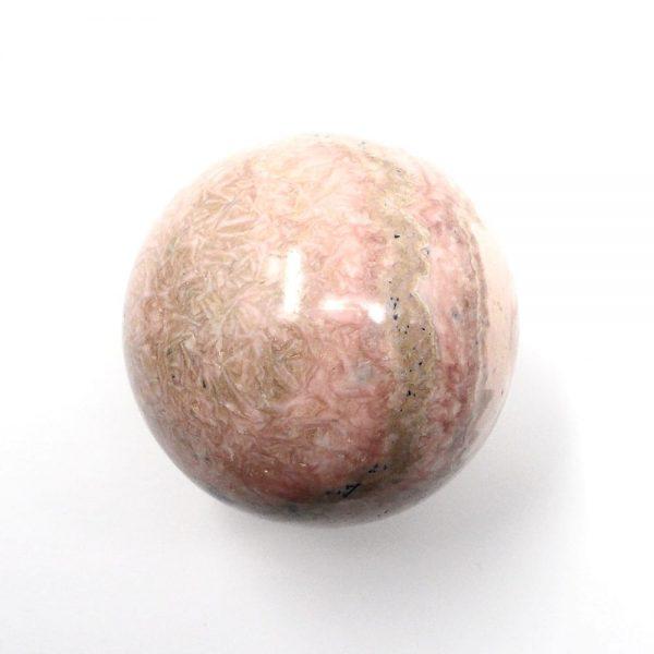 Rhodochrosite Sphere 45mm All Polished Crystals crystal sphere