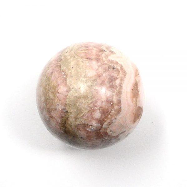 Rhodochrosite Sphere 32.5mm All Polished Crystals crystal sphere