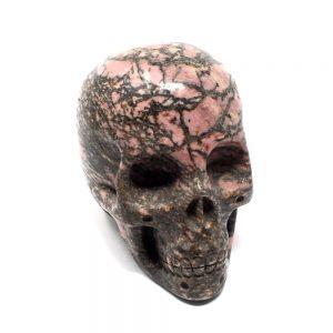Rhodonite Skull New arrivals crystal skull