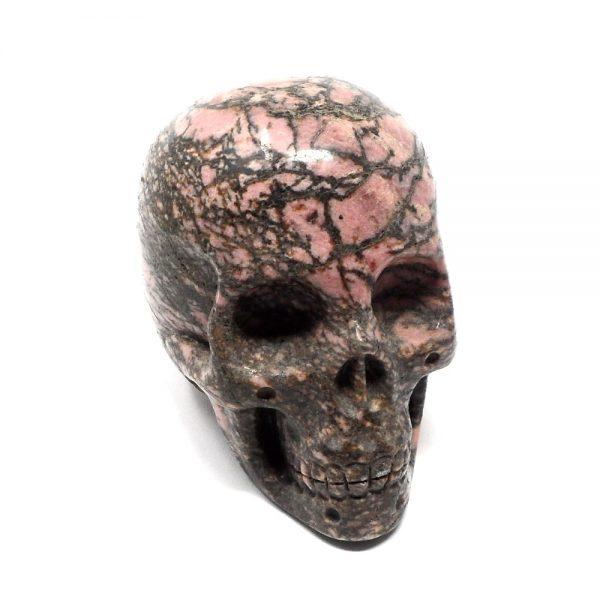 Rhodonite Skull All Polished Crystals crystal skull