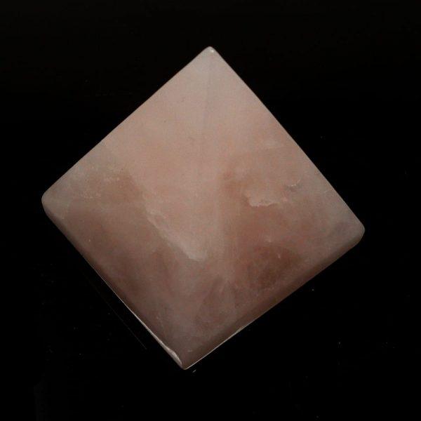 Rose Quartz Pyramid All Polished Crystals crystal pyramid