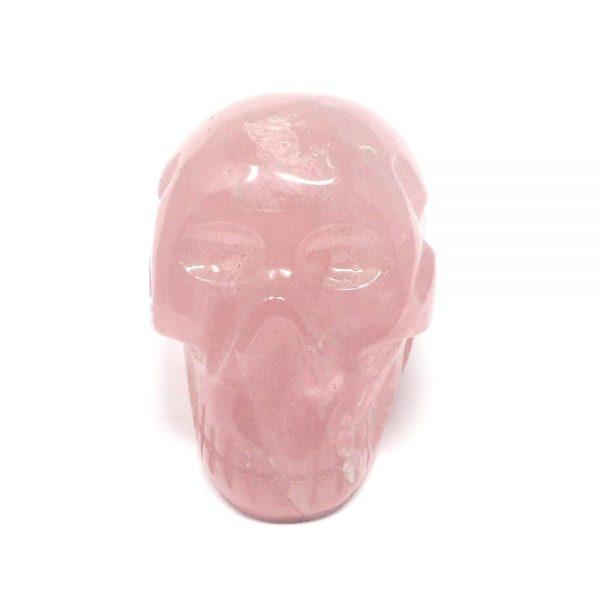 Rose Quartz Skull All Polished Crystals crystal skull
