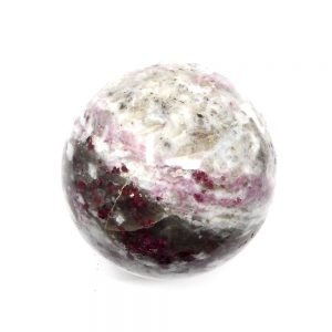 Ruby Tourmaline in Quartz Sphere 55mm All Polished Crystals crystal sphere
