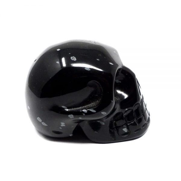 Snowflake Obsidian Skull All Polished Crystals crystal skull