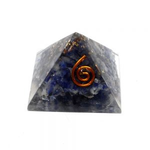 Sodalite Orgonite Pyramid Accessories copper
