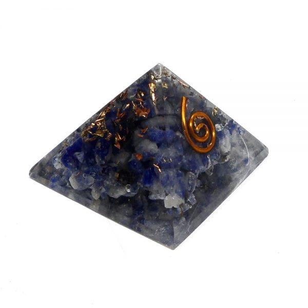Sodalite Orgonite Pyramid Accessories copper