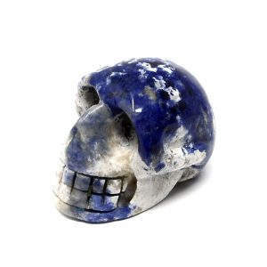 Sodalite Skull All Polished Crystals aventurine