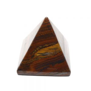 Tiger Eye Pyramid All Polished Crystals crystal pyramid