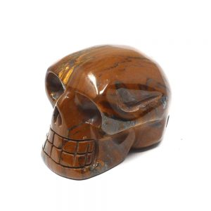 Tiger Iron Skull All Polished Crystals crystal skull