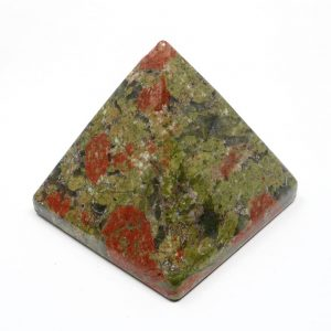 Unakite Pyramid All Polished Crystals crystal pyramid