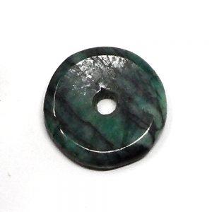 Emerald Donut Gallet crystal donut