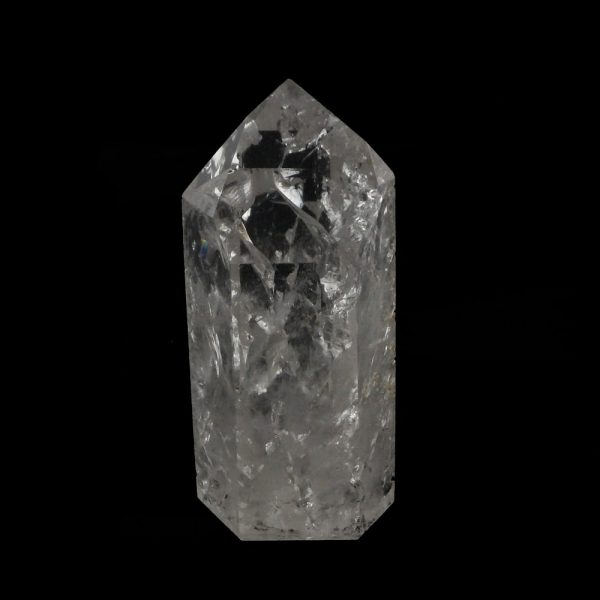Crackle Quartz Generator All Polished Crystals crackle quartz