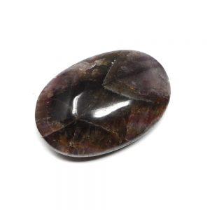 Super Seven Palm Stone Gallet amethyst