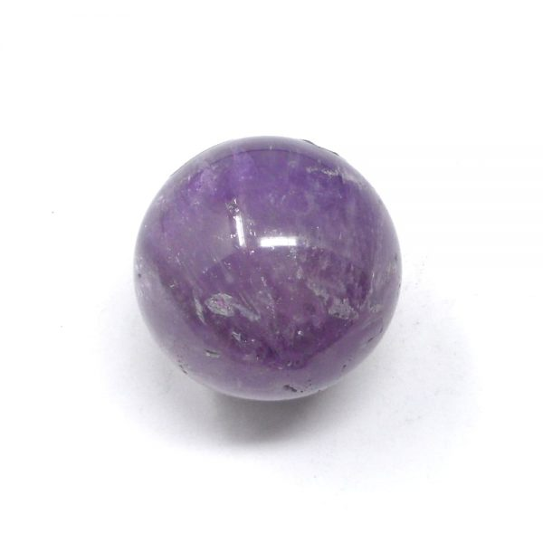 Amethyst Sphere with Inclusions All Polished Crystals amethyst