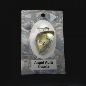 Angel Aura Quartz Pendant All Crystal Jewelry angel aura quartz