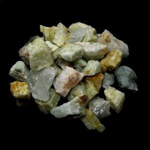 Aquamarine 16oz Raw Crystals aquamarine