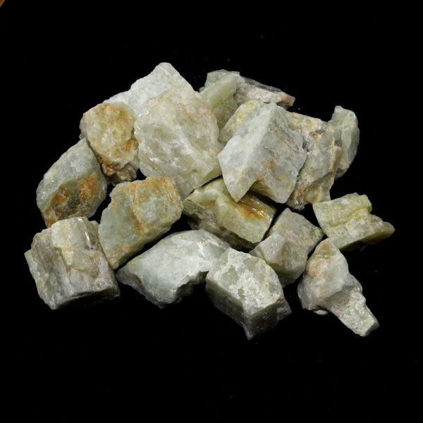 Aquamarine 16oz All Raw Crystals aquamarine