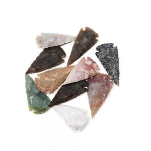 Carved Stone Arrowheads lg Accessories arrowhead