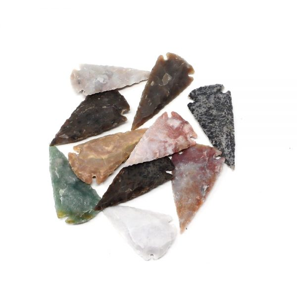 Carved Stone Arrowheads lg Accessories arrowhead