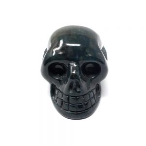 Bloodstone Skull Polished Crystals bloodstone