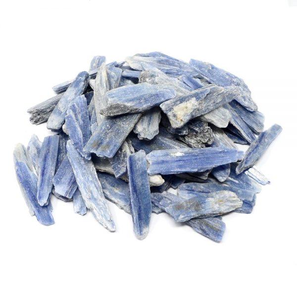 Blue Kyanite Blades 16oz All Raw Crystals blue kyanite