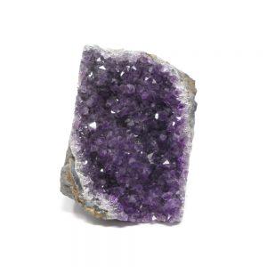 Amethyst Cluster with Cut Base Raw Crystals amethyst