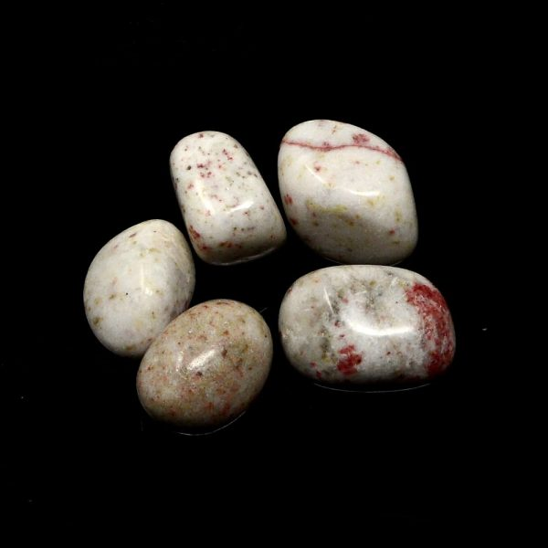 Cinnabrite, tumbled, 2oz All Tumbled Stones bulk crystals